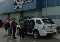 Hydrogen fuel car visit to ATC