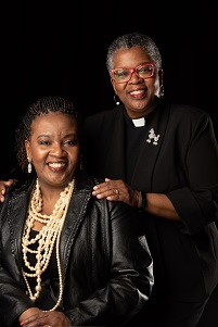 Photo of Reverend Penny Crudup and Dr. Myra Henry