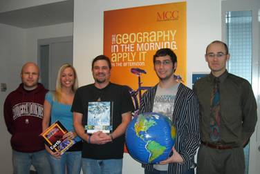 photo of 2008 Geography Awareness Week Prize Winners