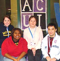 Photo of ACUI student group