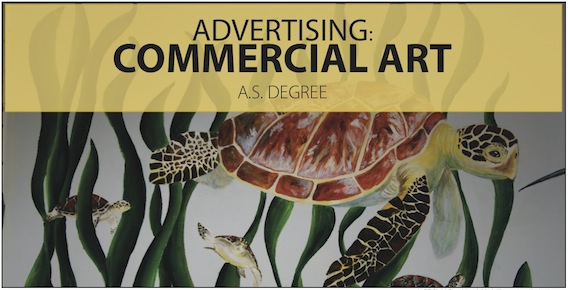 Advertising commercial art A.S. degree