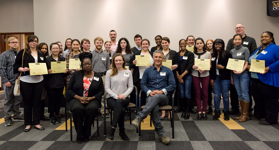 Picture of 2018 scholarship winners