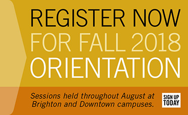 Register Now for Fall 2018 Orientation