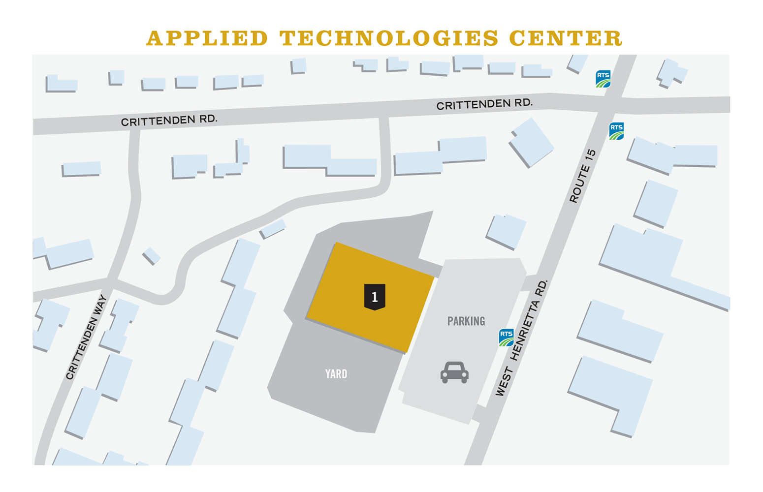 Map of MCC's Applied Technologies Center