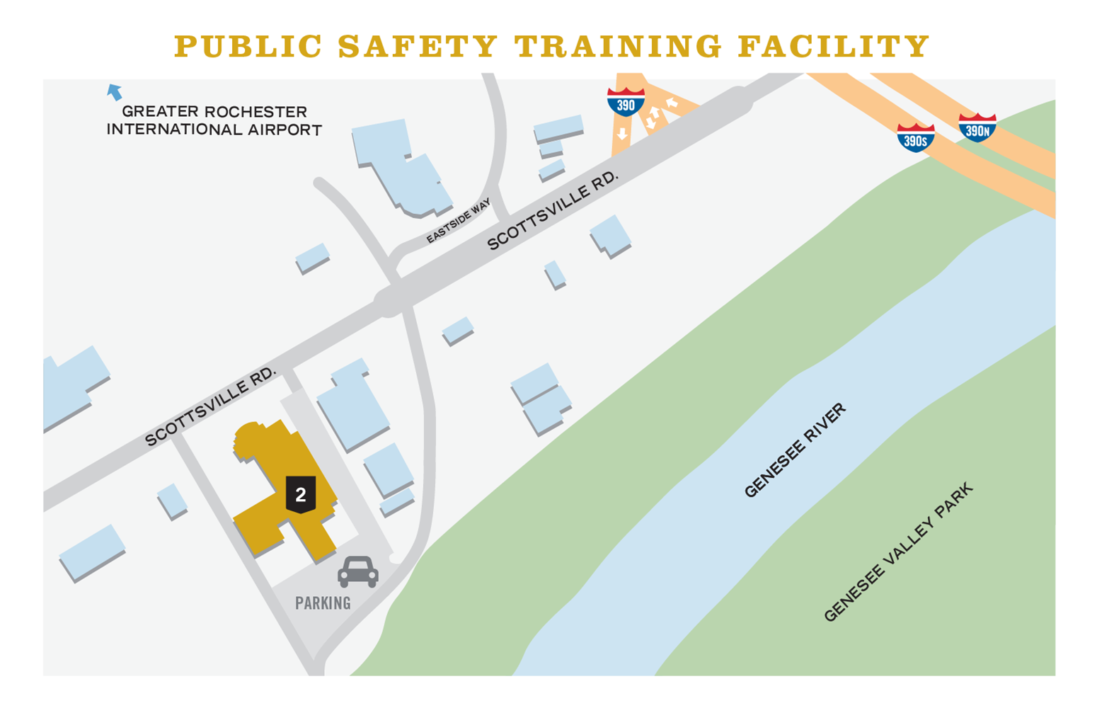 Public Safety Training Facility map