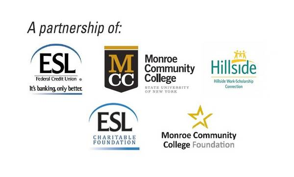 Partnership logos - ESL, Hillside, MCC