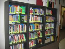 Photo of Career Library reference materials