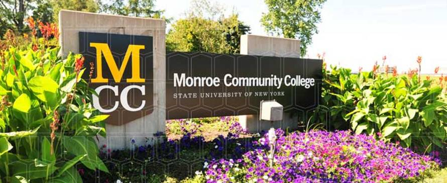 Photo of MCC sign with MCC logo