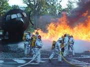 photo of fire training