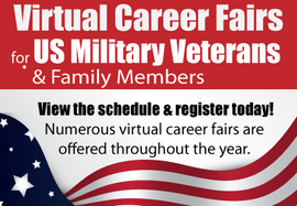 Virtual Career Fair for US Veterans