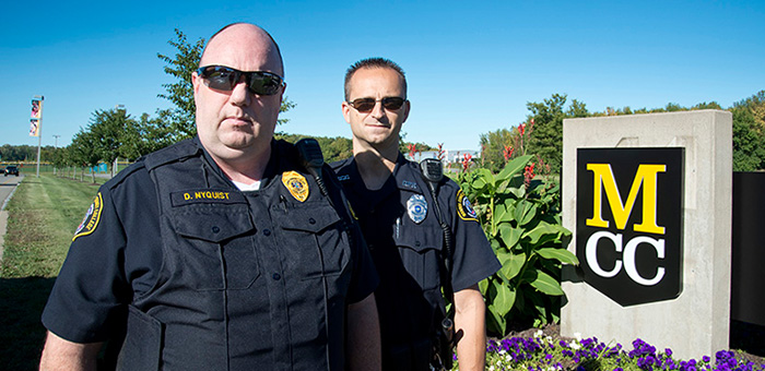 Photo of MCC public safety officers.