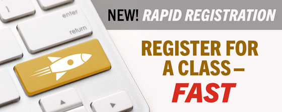 Rapid Registration Info Session