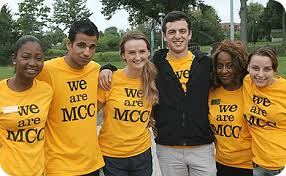 A group of MCC students standing together
